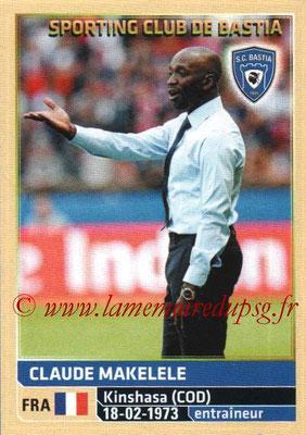 N° 004 - Claude MAKELELE (2008-11, PSG > Déc 2011-14, Entraîneur adjoint PSG > 2014-15, Entraîneur Bastia)