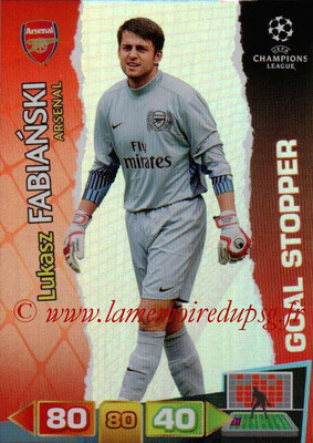 2011-12 - Panini Champions League Cards - N° 277 - Lukasz FABIANSKI (Arsenal FC) (Goal Stopper)