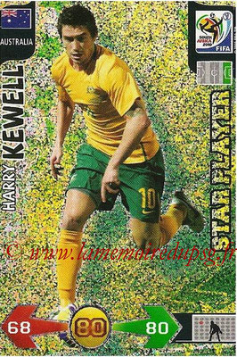 2010 - Panini FIFA World Cup South Africa Adrenalyn XL - N° 032 - Harry KEWELL (Autralie) (Star Player)