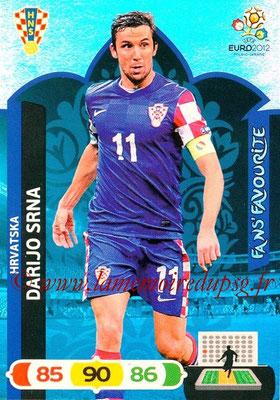 Panini Euro 2012 Cards Adrenalyn XL - N° 257 - Darijo SRNA (Croatie) (Fans' Favourite)