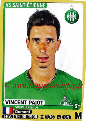 2015-16 - Panini Ligue 1 Stickers - N° 428 - Vincent PAJOT (AS Saint-Etienne)