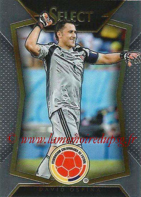 2015 - Panini Select Soccer - N° 076 - David OSPINA (Colombie)