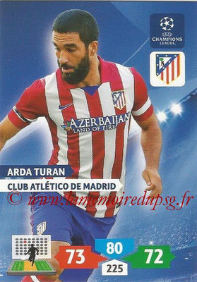 2013-14 - Adrenalyn XL champions League N° 060 - Arda TURAN (Club Atlético de Madrid)