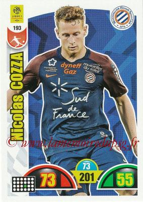2018-19 - Panini Adrenalyn XL Ligue 1 - N° 193 - Nicolas COZZA (Montpellier)