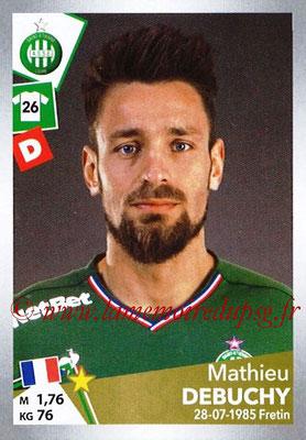 2017-18 - Panini Ligue 1 Stickers - N° T31 - Mathieu DEBUCHY (Saint-Etienne) (Transfert)