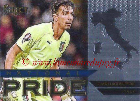 2015 - Panini Select Soccer - N° NP25 - Gianluigi BUFFON (Italie) (National Pride)