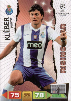 2011-12 - Panini Champions League Cards - N° 219 - KLEBER (FC Porto) (Rising Star)