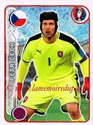 Panini Euro 2016 Stickers - N° 379 - Petr CECH (République Tchèque)
