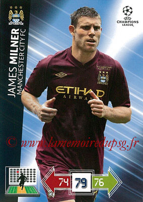 2012-13 - Adrenalyn XL champions League N° 127 - James MILNER (Manchester City FC)