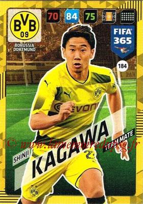 2017-18 - Panini FIFA 365 Cards - N° 184 - Shinji KAGAWA (Borussia Dortmund)