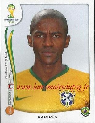 2014 - Panini FIFA World Cup Brazil Stickers - N° 040 - RAMIRES (Brésil)