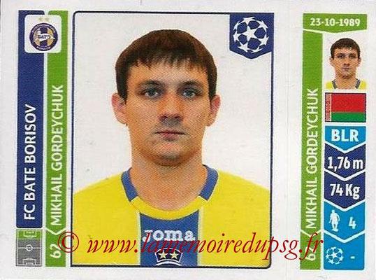 2014-15 - Panini Champions League N° 625 - Mikhail GORDEYCHUK (FC Bate Borisov)