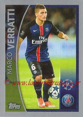 2015-16 - Topps UEFA Champions League Stickers - N° 580 - Marco VERRATTI (Paris Saint-Germain FC) (Player to Watch)