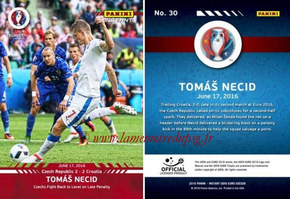 Panini Instant Euro 2016 - N° 030 - Tomas NECID