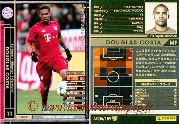 2015-16 - Panini WCCF - N° A006 - Douglas COSTA ( Bayern Munich)