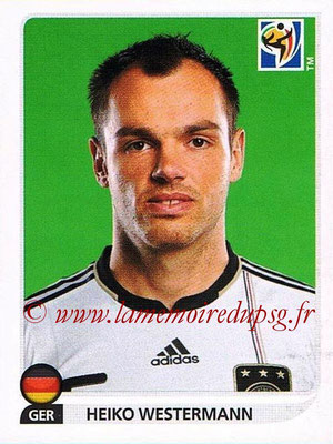2010 - Panini FIFA World Cup South Africa Stickers - N° 264 - Heiko WESTERMANN (Allemagne)