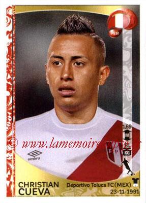 Panini Copa America Centenario USA 2016 Stickers - N° 199 - Christian CUEVA (Perou)