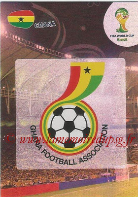 2014 - Panini FIFA World Cup Brazil Adrenalyn XL - N° 169 - Logo Ghana