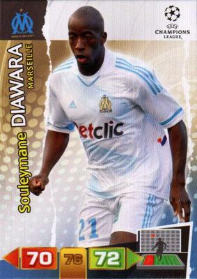 2011-12 - Panini Champions League Cards - N° 193 - Souleymane DIAWARA (Olympique de Marseille)