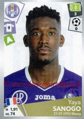 2017-18 - Panini Ligue 1 Stickers - N° 487 - Yaya SANOGO (Toulouse)