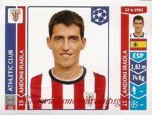 2014-15 - Panini Champions League N° 598 - Andoni IRAOLA (Athletic Club Bilbao)