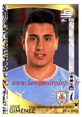 Panini Copa America Centenario USA 2016 Stickers - N° 241 - Jose GIMENEZ (Uruguay)