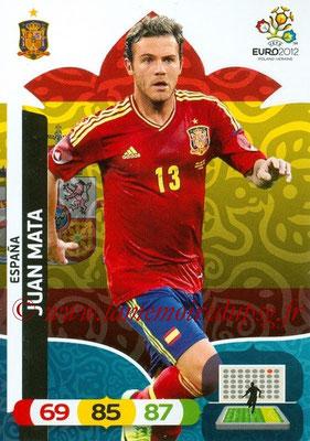 Panini Euro 2012 Cards Adrenalyn XL - N° 073 - Juan MATA (Espagne)