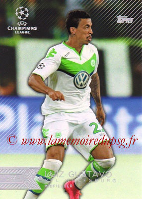 2015-16 - Topps UEFA Champions League Showcase Soccer - N° 050 - Luiz GUSTAVO (VFL Wolfsburg)