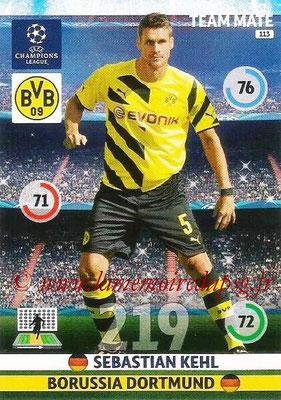 2014-15 - Adrenalyn XL champions League N° 113 - Sebastian KEHL (Borussia Dortmund)