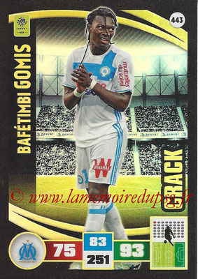 2016-17 - Panini Adrenalyn XL Ligue 1 - N° 443 - Bafétimbi GOMIS (Marseille) (Crack)