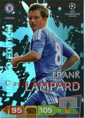 2011-12 - Panini Champions League Cards - N° LE20 - Frank LAMPARD (Chelsea FC) (Limited Edition)