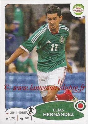 2014 - Panini Road to FIFA World Cup Brazil Stickers - N° 252 - Elias HERNANDEZ (Mexique)