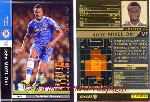 2013-14 - WCCF - N° 026 - John OBI MIKEL (Chelsea FC)