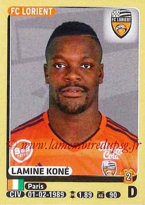 2015-16 - Panini Ligue 1 Stickers - N° 176 - Lamine KONE (FC Lorient)