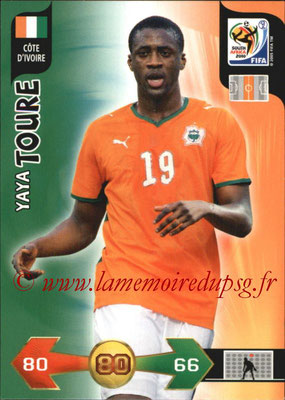 2010 - Panini FIFA World Cup South Africa Adrenalyn XL - N° 067 - Yaya TOURE (Côte d'Ivoire)