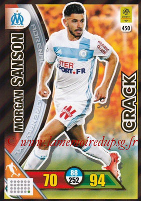 2017-18 - Panini Adrenalyn XL Ligue 1 - N° 450 - Morgan SANSON (Marseille) (Crack)