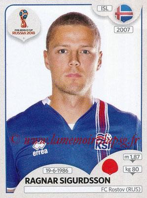2018 - Panini FIFA World Cup Russia Stickers - N° 296 - Ragnar SIGURDSSON (Islande)