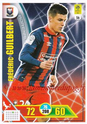 2017-18 - Panini Adrenalyn XL Ligue 1 - N° 056 - Frédéric GUILBERT (Caen)