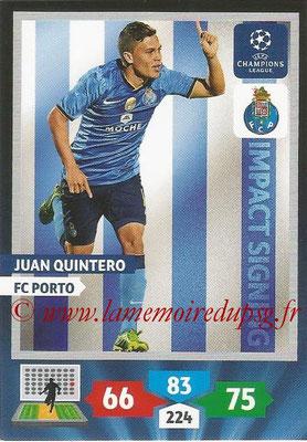 2013-14 - Adrenalyn XL champions League N° 282 - Juan QUINTERO (FC Porto) (Impact Signing)