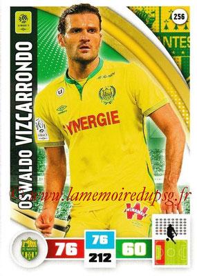 2016-17 - Panini Adrenalyn XL Ligue 1 - N° 256 - Oswaldo VIZCARRONDO (Nantes)