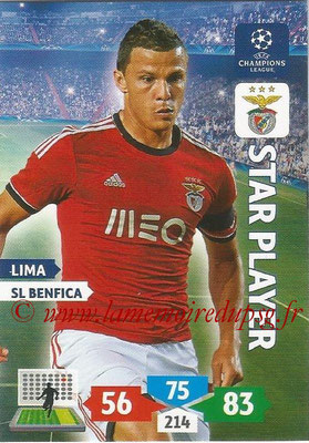 2013-14 - Adrenalyn XL champions League N° 099 - LIMA (SL Benfica) (Star Player)