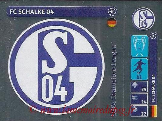 2014-15 - Panini Champions League N° 030 - Logo  FC Schalke 04