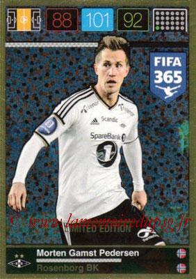 2015-16 - Panini Adrenalyn XL FIFA 365 - N° LE-MP - Morten Gamst PEDERSEN (Rosenborg BK) (Limited Edition)