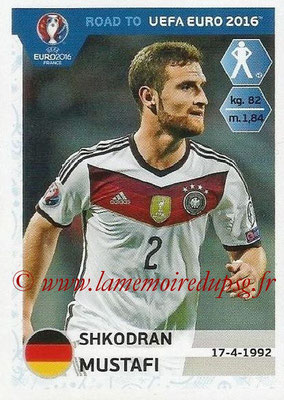 Panini Road to Euro 2016 Stickers - N° 054 - Shkodran MUSTAFI (Allemagne)