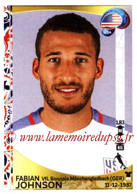 Panini Copa America Centenario USA 2016 Stickers - N° 032 - Fabian JOHNSON (USA)