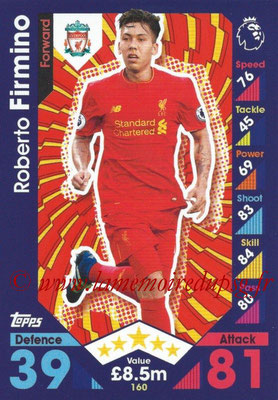 2016-17 - Topps Match Attax Premier League - N° 160