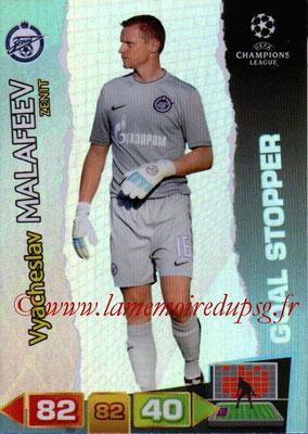 2011-12 - Panini Champions League Cards - N° 295 - Vyacheslav MALAFEEV (FC Zenit) (Goal Stopper)