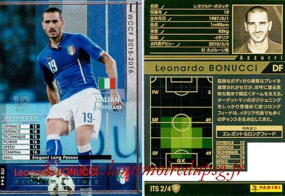 2015-16 - Panini WCCF - N° ITS2 - Leonardo BONUCCI (Italie) (Italian Superstars)