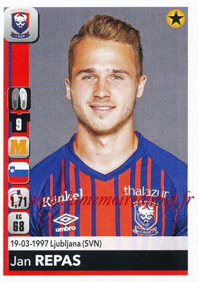 2018-19 - Panini Ligue 1 Stickers - N° 090 - Jan REPAS (Caen)