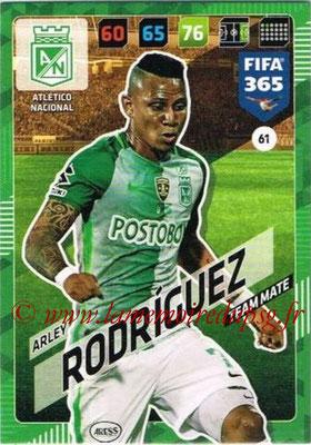 2017-18 - Panini FIFA 365 Cards - N° 061 - Arley RODRIGUEZ (Atletico Nacional)